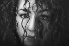 Silvia (Diana Petrarca 89) Tags: portrait people persone pioggia ritratti ritratto biancoenero