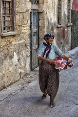 Tarsus Streets I (munal4) Tags: woman turkey traditional mersin anatolia tarsus