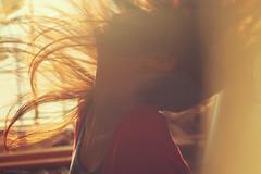 recrudescence. (dimplyemily) Tags: light selfportrait hair