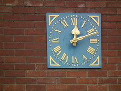 Time for pale blue (amy's antics) Tags: clock time roman paleblue