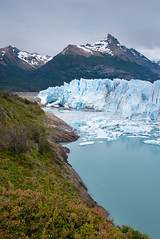 Ice Age (danielpivnick) Tags: blue patagonia mountains green ice southamerica argentina vertical cloudy glacier jagged iceberg wilderness peritomoreno lagoargentino d800 blueice peritomorenoglacier icewall glaciallake jaggedmountains calvingice nikond800