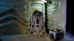 "Echo Base diorama - R2D2 in Echo Base at Hoth • <a style=""font-size:0.8em;"" href=""http://www.flickr.com/photos/86825788@N06/8362425882/"" target=""_blank"">View on Flickr</a>"