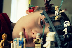 star wars in the head (nicouze) Tags: boy star kid child yoda lego luke r2d2 stormtrooper obi wars wan potrait enfant c3po skywalker nicouze