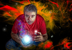 my name is Isi (Isidr☼ Cea) Tags: portrait retrato magic autoretrato fantasy fantasia magia wwwisidroceacom