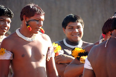 Governador Silval Barbosa, prestigia ritual sagrado, Alto Xingu. (Silval Barbosa) Tags: xingu quarup altoxingu