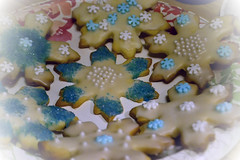 snowflake cookies 6 by Jo Naylor, on Flickr