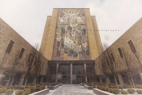 The Hesburgh Library