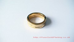 Tiffany & Co. Ring (PureGoldPlating) Tags: goldplated tiffanyco goldplating goldring