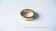 Tiffany & Co. Ring (PureGoldPlating) Tags: goldplated tiffanyco goldplating goldring