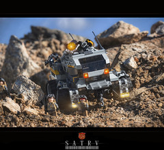 SATRV 'Goat' (The Brothers Merz) Tags: truck army lego military scout future scifi vehicle hummvee