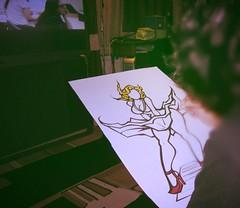 Work in progress (Thee Cannibal) Tags: art artist comic baker drawing cartoon monroe norma gc tzm knd gonzoart ainsr