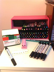 How to organise and store promarkers (Hazel) Tags: cute art storage kawaii pens ideas organize organising letraset paperchase organise promarkers neonmarkers aquamarkers