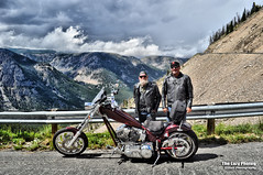 July 16 2016 - Tim, Brian and the Iron Horse (lazy_photog) Tags: red mountains photography highway montana rally pass lodge lazy motorcycle elliott photog switchbacks beartooth 071616beartoothandredlodge