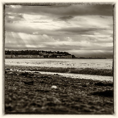 Lazy Morning by the Sea (@bill_11) Tags: styles england monochrome themes places pegwellbay weather flickr sunrise