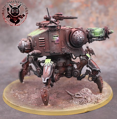 Onager Dunecrawler (Baphominiatures) Tags: warhammer40k miniatures painting commissionpainting baphominiatures dune crawler onager