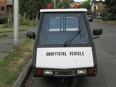 unofficial vehicle go-4 (4) (Handsomejimfrommaryland) Tags: seattle washington go4 interceptor unofficial car vehicle motorcycle auction meter reader parking enforcement fremont police 1996 nude bikini blonde norwegian rainbow republic trike three wheeler scooter moped
