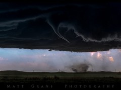 Wray Begins (Matt Grans Photography) Tags: tornado twister whirlwind funnelcloud wray colorado storm supercell severe thunderstorm weather clouds