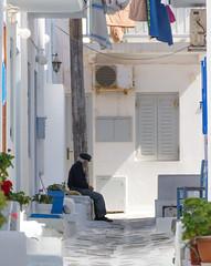 "Waiting (Ania Mendrek) Tags: cyclades summer holidays sea hot sun beach greece mediterranean island aegean ""cycladic culture"" mykonos ""greek mythology"" nature μύκονοσ chora ""the winds"" views landscape windmills waterfront architecture church orthodox"