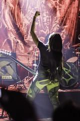 Nervosa live 8-19-2016pic1 (Artemortifica) Tags: brazil chicago mosh nervosa reggies reign suspended wrath brutal concert deathmetal event live metal music performance pit stage thrashmetal il
