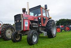 BIGGAR VINTAGE RALLY 2016 (RON1EEY) Tags: biggarvintagerally2016 tractor masseyferguson v8 vintage classic