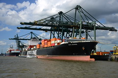 2016 08 20 PSA Europa Terminal DST_4533 (huaphotography) Tags: psa terminal europaterminal diana nyk antwerp antwerpen       port        belgium belgi          schip ship vessel        schelde