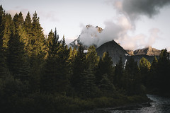 (kendall.plant) Tags: nature outdoors hiking explore hike backpacking trees green montana national park mountains moody fade sony a7 55mm clouds weather