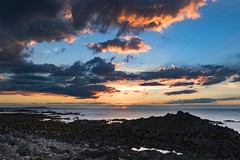 The Golden Hour (Tidyshow) Tags: sea seaside seascape rocks beautiful beach moray clouds cloudscape scotland scottish sun sunset buckie landscape sony a77ii ilca77m2 a77m2 sigma 1020