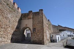 Galisteo (Cceres). Muralla. Puerta de la Villa (santi abella) Tags: galisteo cceres espaa extremadura murallas