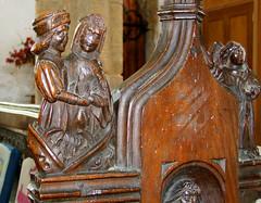 seven deadly sins: Lust (15th Century) (Simon_K) Tags: wiggenhall st germain germans norfolk eastanglia church churches