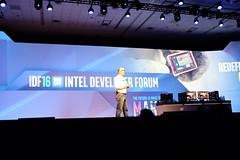 Intel IDF 2016 Keynote (anshelsag) Tags: intel idf 2016 ge bmw yuneec microsoft hololens holographic alloy vr ar realsense