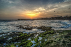 Golden Beauty (Sunith) Tags: kanyakumari tipofindia sunset roadtrip hdr tamilnadu sony mirrorless a7ii a7m2 28mm india indianocean arabiansea sea