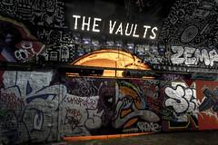 The Vaults (Bob the Binman) Tags: nikon d7100 graffiti london waterloo lambeth grime urban hccc leakestreet padst www londonist