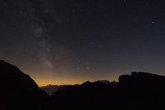 DSC00267 (Stefano Dorigo) Tags: stelle stars starry night sky wonderful d610 nikon dolomites dolomiti italy agosto 2016