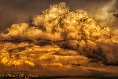 Clouds at Sunset (travelphotographer2003) Tags: clouds sunset color loftmountainoverlook shenandoahnationalpark virginia usa mountainsunset stormclouds solitude serenity majestic beauty appalachianmountains blueridgemountains beautyinnature evening serene