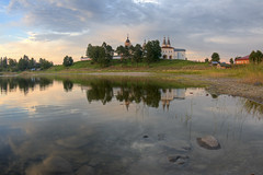 ferapontov monastery (Sergey S Ponomarev) Tags: sergeyponomarev canon eos 70d zenith zenitar 16mmf28fisheye paysage paesaggio monastery convent church orthodox hdr water reflections evening sunset stones riflessi chiesa russia russie russland north nord ferapontov 2016 august travel trip europe christian                history ferapontovo