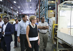 IMG_1037  Premier Kathleen Wynne toured RAM Plastics in Scarborough. (Ontario Liberal Caucus) Tags: scarborough industry thiru smallbusiness business