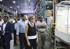 IMG_1037  Premier Kathleen Wynne toured RAM Plastics in Scarborough. (Ontario Liberal Caucus) Tags: scarborough industry thiru smallbusiness business