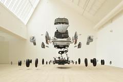 cosmic thing (el genio del dub) Tags: car cars wv volkswagen art vehicle installation sculpture assemblage beetle scandinavia malm sweden sverige damin ortega