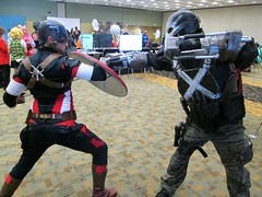 "CAPTAIN AMERICA: ""The Carnage of Crossbones"" (MorpheusBlade) Tags: 2016otakon baltimoreconventioncenter captainamerica crossbones cosplay comicon costumes"