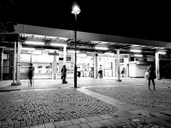 Night  station (osanpo_traveller) Tags: japan yokohama night station huaweip9