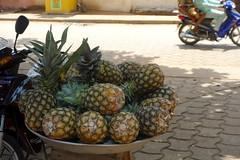 DSC05720 (noémiegirardet) Tags: slaves esclave marche colonialisme souffrance animism vaudou ouidah bénin afrique africa ritual walk ananas pineapple