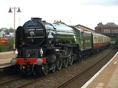 "British Railways A1 Pacific 4-6-2 60163 ""Tornado"" rolls into Tyseley (Oz_97) Tags: tyseley britishrailways tornado 60163"