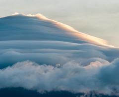 Fuji and clouds (shinichiro*) Tags:    jp 20160829ds38669 2016 crazyshin nikond4s afsnikkor70200mmf28ged yamanashi japan lakeyamanaka