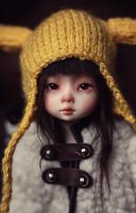 Bless those tired eyes (IssyBJD) Tags: abjd bjd asian ball jointed doll yosd dollmore monadoll mona monga