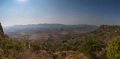 Trek from Kalaw to Inle lake (M.Ancian & A.Uriarte) Tags: shan myanmarbirmanie birmanie panorama trek kalaw hike rando landscape