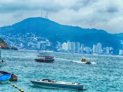 bahia (nava22mx) Tags: acapulco guerrero mexico 2016 nava22mx mar bahia botes vacaciones