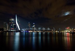Rotterdam By Night (J-A-R-S) Tags: longexposure bridge rotterdam nightphotography citybreak