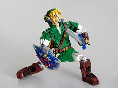 Link off guard (NKubate) Tags: lego ideas link zelda nintendo nkubate hero mastersword