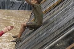 catch me (stevefge) Tags: berendonck family familyedition viking mud boy water slide