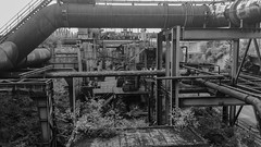 Photowalk at a decommissioned blast-furnace. (WrldVoyagr) Tags: instagramapp square squareformat iphoneography uploaded:by=instagram inkwell duisburg germany deutschland hochofen blastfurnace landschaftsparknord photowalk